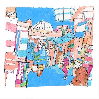 Andy Murray - Illustrator